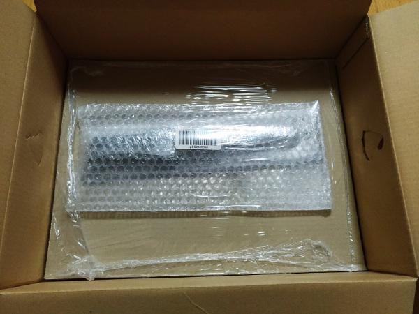 アマゾンで購入したキンボシ兼次の片手刈り込みバサミの梱包状態