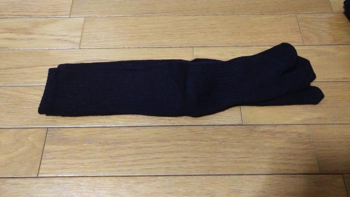 ワークマンのカプサイシン靴下の長さ